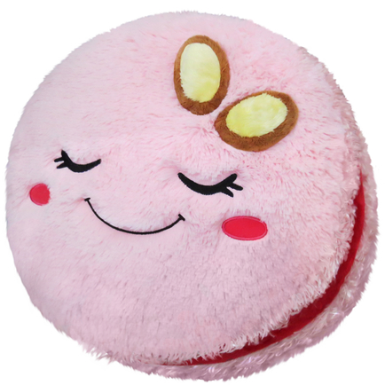 Comfort Food Pink Macaron