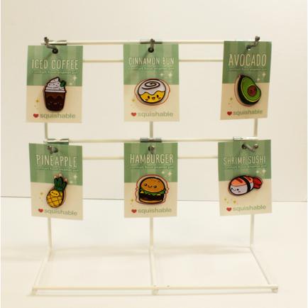 Squishable Display for Enamel Pins