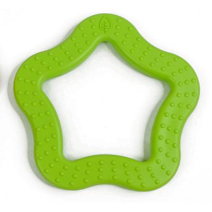 Star Teether Green