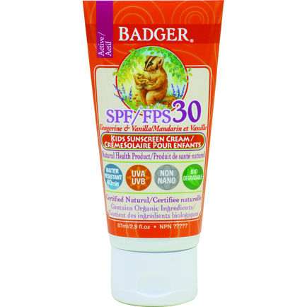 SPF 30 Kids Sunscreen CREAM 87ml