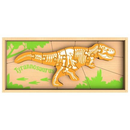 Dinosaur Skeleton Puzzle - Tyrannosaurus
