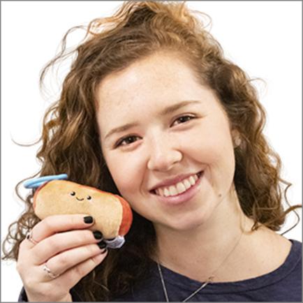Micro Squishable Hot Dog