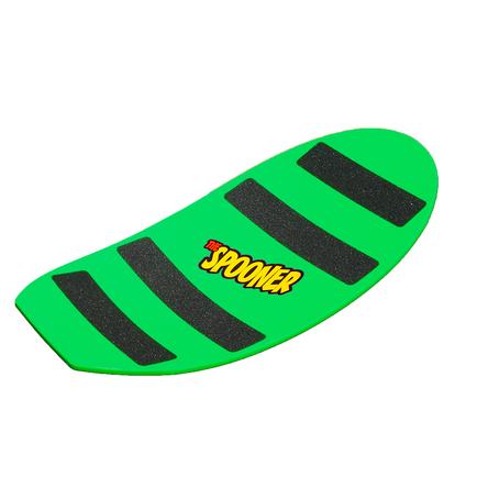 27 inch pro model spooner board green