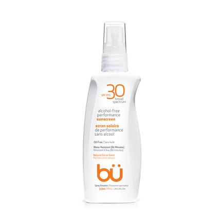 BU SPF30 Alcohol-Free Spray Nat Citrus Scent 98ml