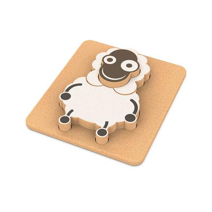 Elou 3D Sheep Puzzle