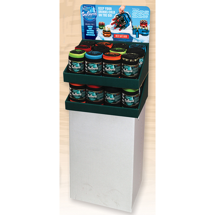 Bev Barrel 24pc Floor Display