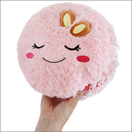 Mini Comfort Food Pink Macaron