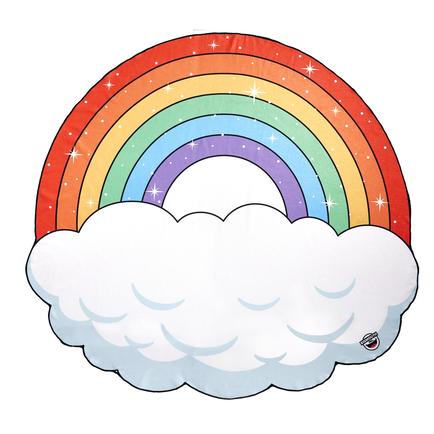 Gigantic Rainbow Beach Blanket