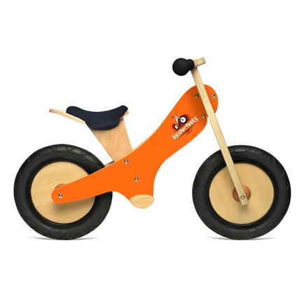 Kinderfeets Orange Chalkboard bike with chalk!