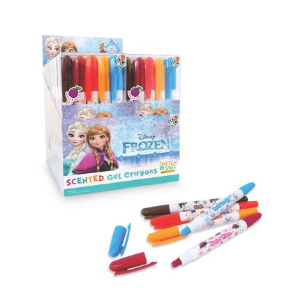Frozen Sketch & Sniff Gel Crayons Sets (of 5)