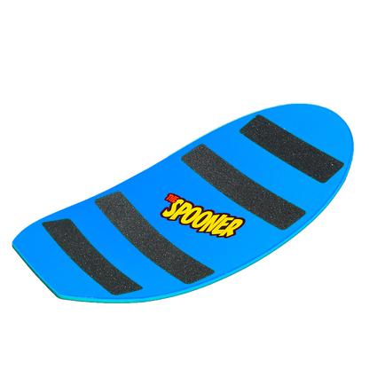 27 inch pro model spooner board blue