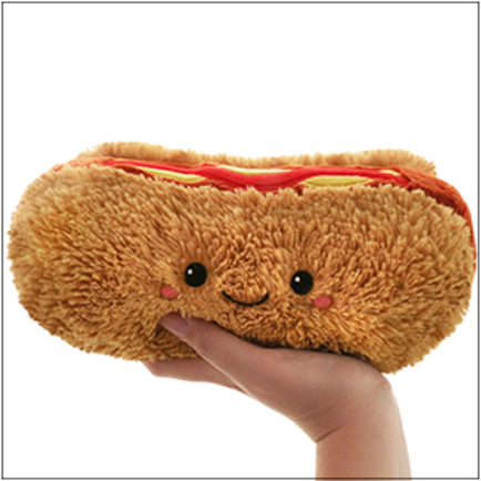 Mini Squishable Hot Dog
