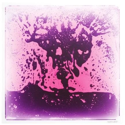 Square Gel Floor Tile - Purple