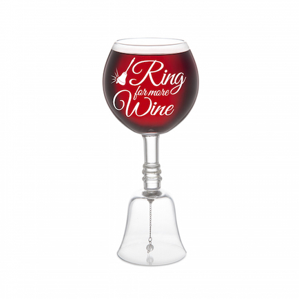 Bell Wine Glass (Ring for More Wine)