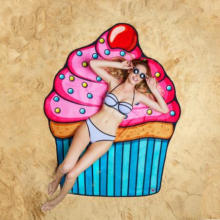 Gigantic Cupcake Beach Blanket