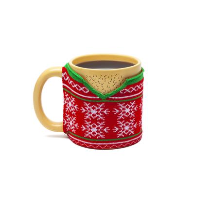 Ugly Sweater Mug (Knit Wrap)