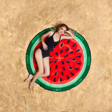 Gigantic Watermelon Beach Blanket