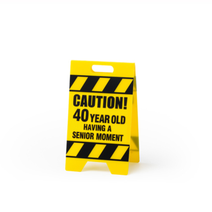 40. Sen Moment Caution Sign