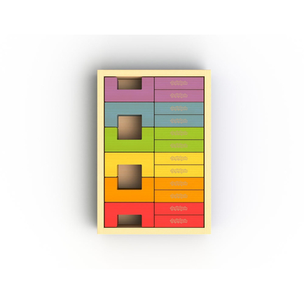 U Build It Plus - 24 Pc Block Set