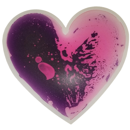 Gel Floor Tile - Purple Heart