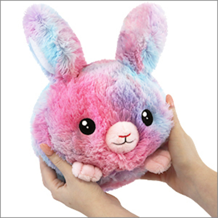 Mini Squishable Cotton Candy Bunny