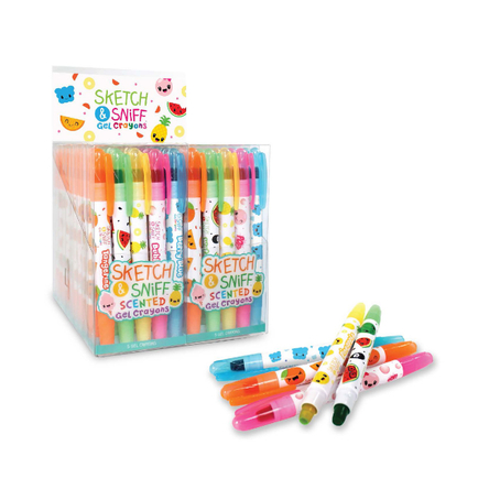 Sketch & Sniff Gel Crayons Sets (of 5)