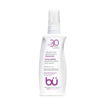 BU SPF30 Alcohol-Free Spray White Sage 98ml
