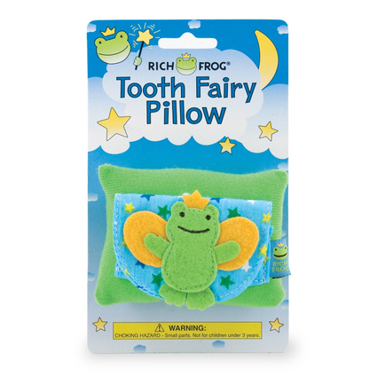 Fairy Frog Tooth Fairy Pillow