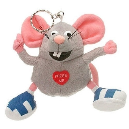 I Like You Mouse Keychain Counter Display