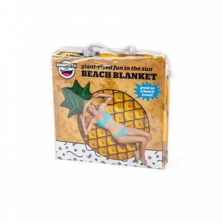 Gigantic Pineapple Beach Blanket