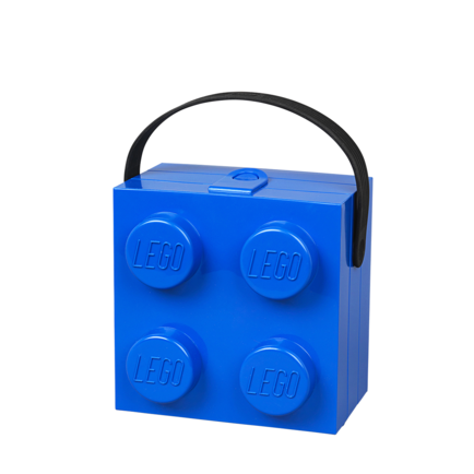 LEGO Box with Handle Blue