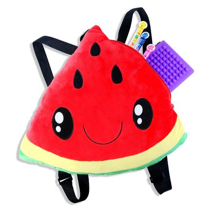 Plush Backpacks Watermelon