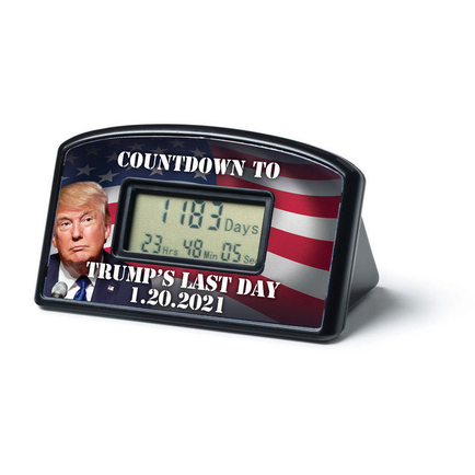 Trump's Last Day Countdown Timer