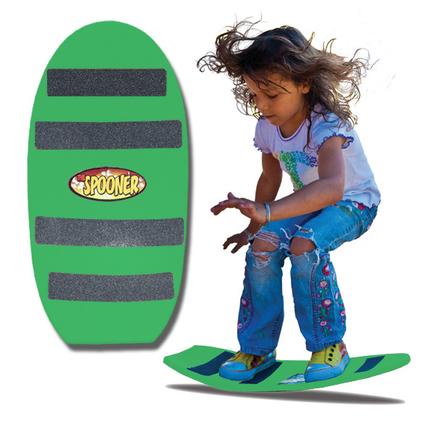 24 inch freestyle spooner board green