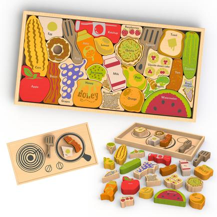 Alphabites A to Z wooden puzzle