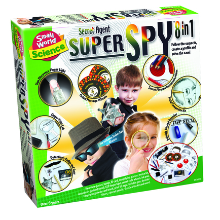 Secret Agent Super Spy 8-iN-1