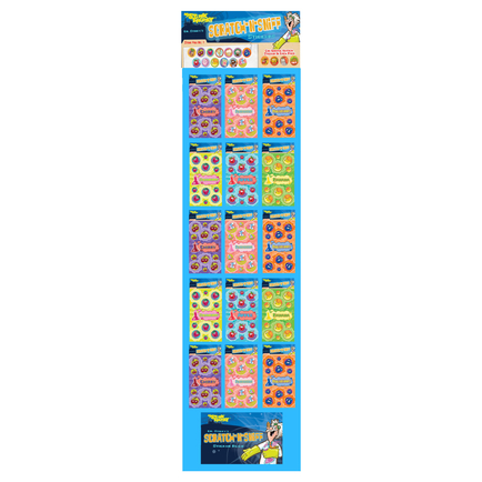 Scratch & Sniff Stickers No.5 CANDY Floor Display