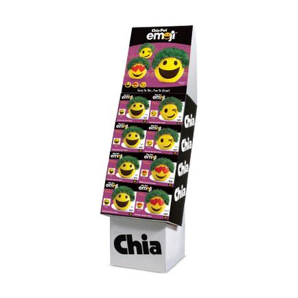 Chia Emoji 16 ct. Floor Display