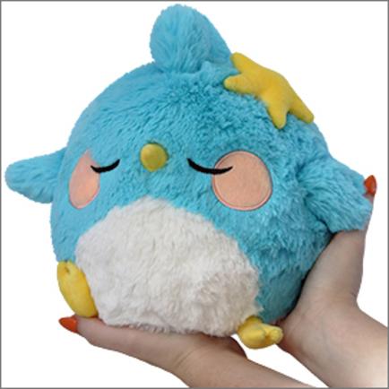 Mini Squishable Sleepy Blue Bird Limited