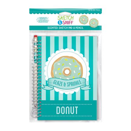 Sketch & Sniff Sketch Pads w/Smencil Donut