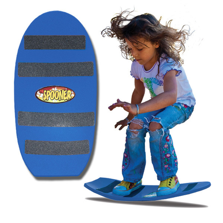 24 inch freestyle spooner board blue