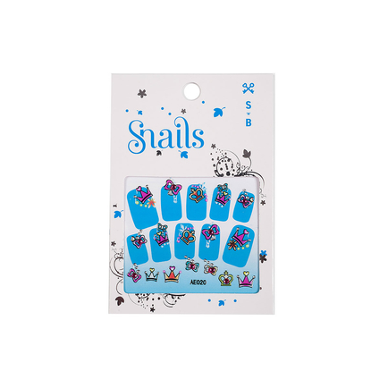Nail Stickers - Perfect Princess