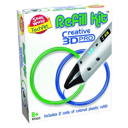 3D Pen Refill in Blue & Green