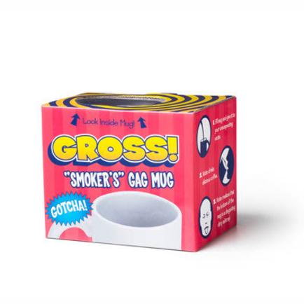 Gross! Gotcha! Smokers Gag Mug