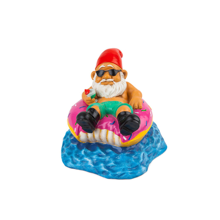 Donut Worry Be Happy GARDEN GNOME