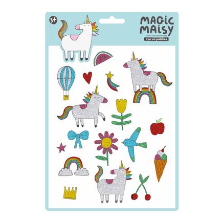 Magic Maisy Glitter Iron-on Patches
