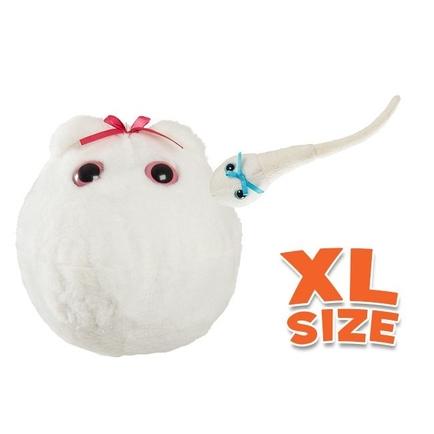 XL Egg with mini sperm