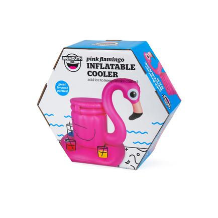 Floating Flamingo Beverage Cooler