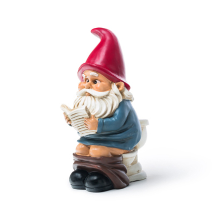 Gnome on a Throne