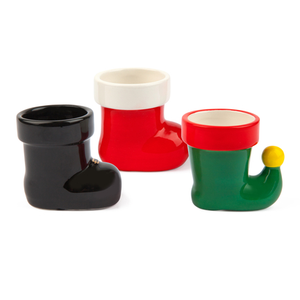 Holiday Boot Shot Glass Set - 3 pack
